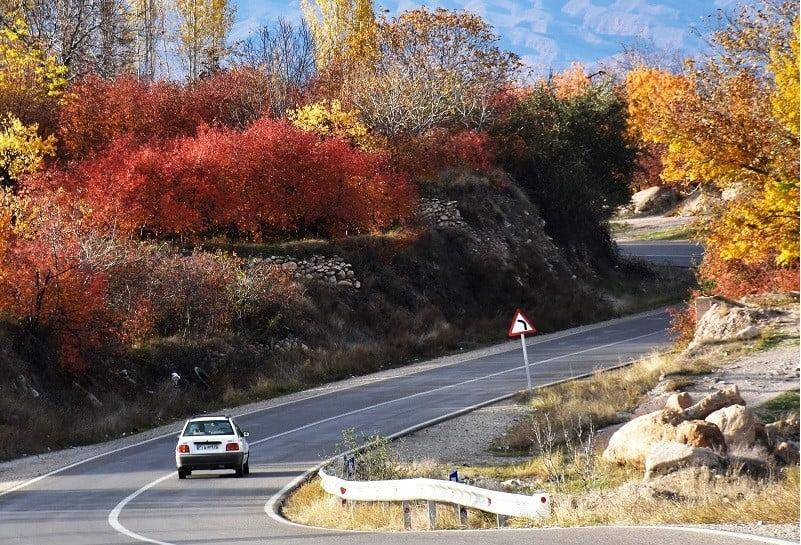 جاده تهران به مشهد,جاده تهران مشهد,جاذبه های جاده تهران مشهد,