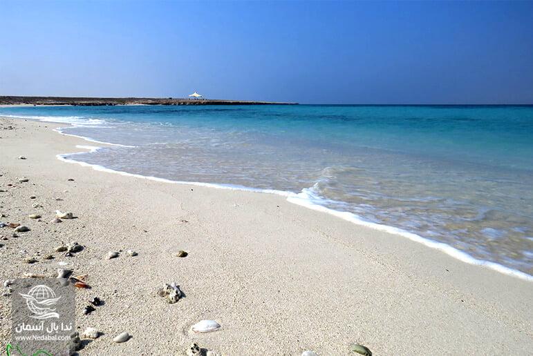 جزیره هندورابی یکی از جاذبه های نزدیک به کیش